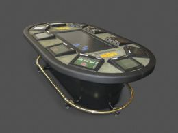 First electronic poker table launched